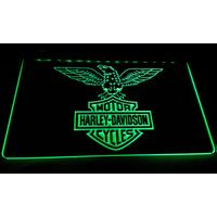 LS602-g Harley Davidson Motor Cycles Neon Light Sign