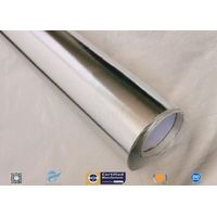 Heat Sealing Aluminium Foil Laminated Fiberglass Fabric