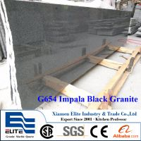 G654 Impala Black Granite Small Slabs