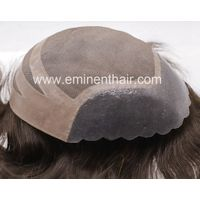 PU Front Stock Hair Toupee Wigs Hair System Toupee