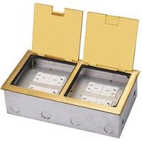 DCK-280/GT  Brass Open type floor box