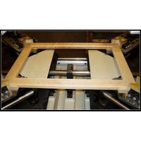 High frequency wood picture frame assembling machine