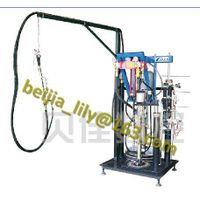 ST03 double glazing glass 2 component sealant machine