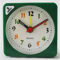 plastic desk table clock  square cute clock AH2020