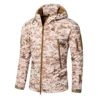 TAD shark skin soft shell men's jacket in winter for outdoor sport Outdoor Military Tactical Jacket thumbnail image