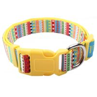 Custom colorful dog collars with colorful padded and brakeaway buckle thumbnail image