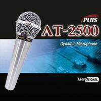 AUDIOTRAK AT-2500 PLUS Professional Dynamic Microphone