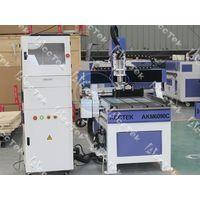 Acctek small size 6090 6012 multifunctional automatic cnc wood lathe thumbnail image