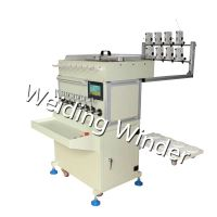 6/8spindle twisting wire winding machine