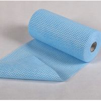 Mechanical wiping cloth