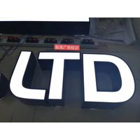 Lighted Channel Letters Exterior Signage Maker
