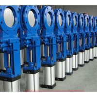 STAINLESS STEEL/CAST IRON WAFER OR FULLY LUGGED KNIFE GATE VALVE thumbnail image