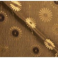 Poly Dupion Jacquard Silk Fabric