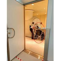 Nonmagnetic MRI wheelchair for MR and CT room use thumbnail image