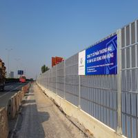 Best Quality Noise Reduction Wall Sound Proof Noise Barrier for Infrastructure Construction thumbnail image