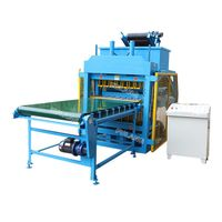 fully automatic clay soil interlocking brick block making machine