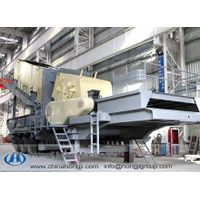 Good Portable Wheeled Impact Crusher in Hongji