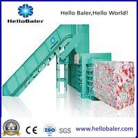 Automatic Baler Horizontal Hydraulic Press Machine Machine for Waste Paper/Cardboard/Plastic thumbnail image