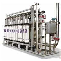 ultrafiltration water treatment equipment for drinking water(25T/H)