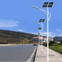 Professional Design Economical Type 7m Pole 30W Solar LED Light Street Light