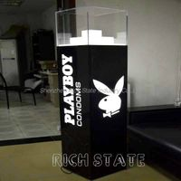Acrylic displays cases