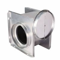CE vertical type centrifugal inline duct bathroom exhaust fan