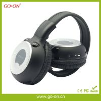 In-car wireless stereo headphone with dual channels