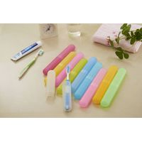 Inton fashionable  plastic tooth brush cover for travel and daily use and protect your tooth brush k