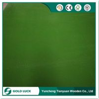 Waterproof PP Plastic Coated Construction Plywood Sheet