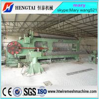 Lagrge Hexagonal Wire Netting Machine/Gabion Mesh Machine