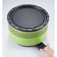 Lotus Outdoor Portable BBQ Charcoal Grill/Smokeless BBQ Charcoal with Transport