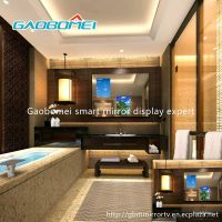 Gaobomei Customized AD mirror advertising lcd display / interactive mirror / lcd magic mirror / elec
