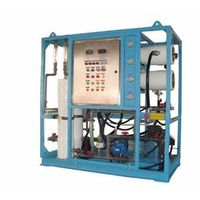 50TPD Seawater desalination machine for ship on sailing