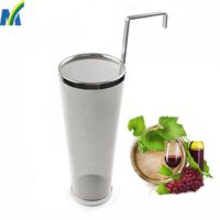 Stainless Steel 300 Micron Mesh Homebrew Hops Beer & Tea Kettle Brew Filter thumbnail image