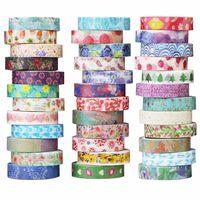 China Cheap Beautiful Color Printed Japanese Paper Decorative Anime Masking Washi Tape thumbnail image