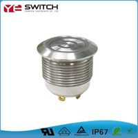 IP67 Waterproof Momentary Push Button Switch