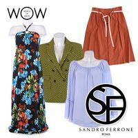 SANDRO FERRONE clothes for women wholesale