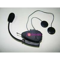 100m Two way Talking motorcycle helmet bluetooth intercom headset with fm radio thumbnail image
