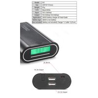 Innovative product Battery replaceable power bank plus 18650 Li-ion battery charger M-3