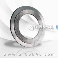 Metal serrated gasket with ptfe/graphite coating thumbnail image