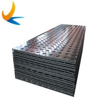 Construction ground protection digger ground mats for heavy equipment