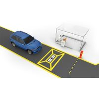 3300 Fixed vehicle scanner Under Vehicle Surveillance System for Vehicle Scanning
