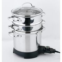 0.8mm S/S 304 Stainless steel Non-stick versatile pasta pot with strainer