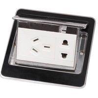 ZCY-108/NX  Black color Press type Table socket