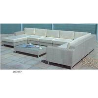 modern rattan wicker sofa set