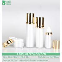 Acrylic bottle packaging 30ml 100ml 120ml acrylic serum bottle thumbnail image