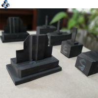 Molded Fine Grain EDM Graphite Crucible Graphite Block