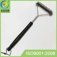 Long handle best stainless steel grill cleaning brush barbeque brush