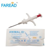 veterinary needle syringe with implanted ID microchip for dog cat animal 2.1212mm