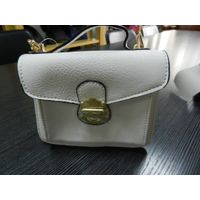 Have stock metal lock and a front pocket ladies handbag